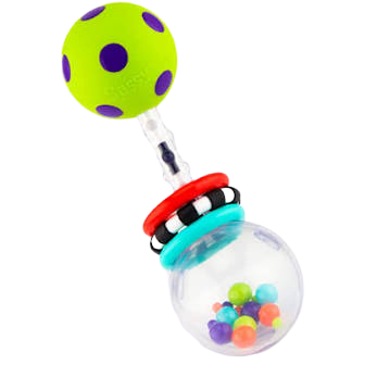 sassy spin rattle